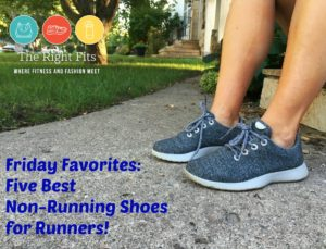 Friday Five Favorites: Most Comfortable Non-Running Shoes