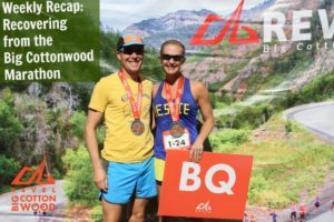 Weekly Recap: Recovering From Big Cottonwood