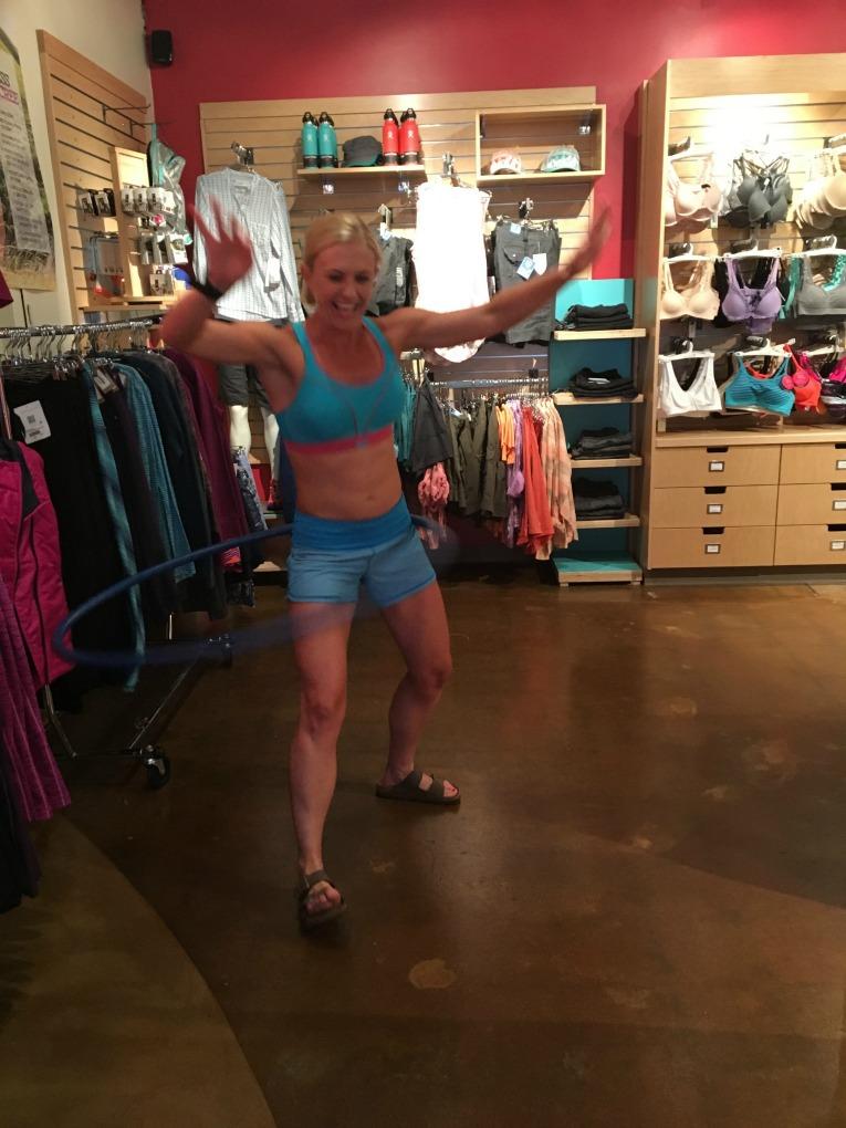 sports bra shock