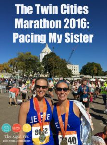 Twin Cities Marathon 2016: Pacing My Sister