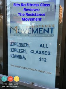 Fits Do Do Fitness Class Reviews: The Resistance Movement