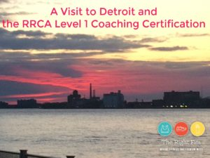 A Visit to Detroit and the RRCA Level 1 Coaching Certification