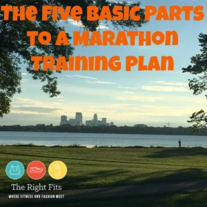 Friday Five: The Five Basic Parts to a Marathon Training Plan