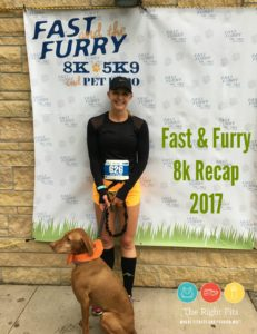 Guest Post by Matilda the Vizsla: Fast & Furry 8k 2017
