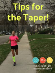 Fitting Remarks: Tips for the Marathon Taper