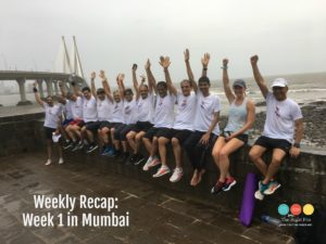 Weekly Recap: 14 Weeks Until the New York City Marathon, a.k.a. My First Week in India