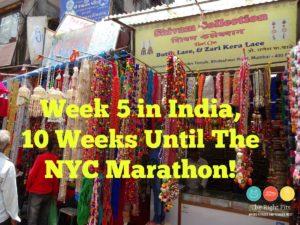 Weekly Recap: 10 Weeks Until the NYC Marathon