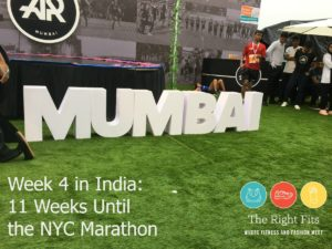 Week 4 in India and 11 Weeks Until the New York City Marathon!