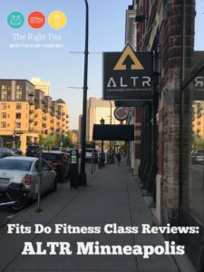 Fits Do Fitness Class Reviews: ALTR Minneapolis
