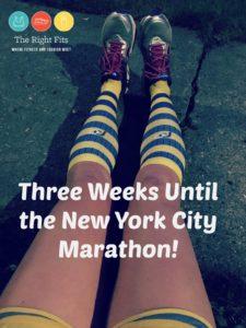 Weekly Recap: 3 Weeks Until the New York City Marathon