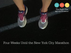 Weekly Recap: Four Weeks Until The New York City Marathon