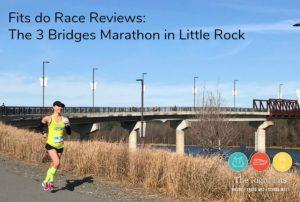 The 3 Bridges Marathon in Little Rock, Arkansas