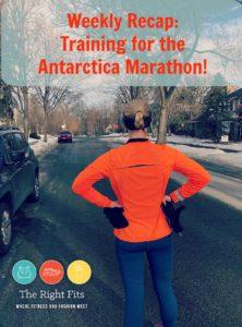 Weekly Recap: 8 weeks Until the Antarctica Marathon