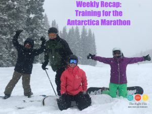 Weekly Recap: 5 Weeks Until the Antarctica Marathon