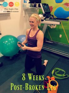 Weekly Recap: 8 Weeks Post-Broken Leg