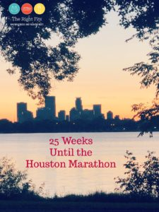 Weekly Recap: 25 Weeks Until the Houston Marathon