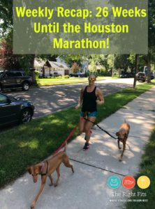 Weekly Recap: 26 Weeks Until the Houston Marathon!
