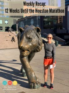 Weekly Recap: 12 Weeks Until the Houston Marathon
