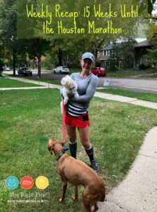 15 Weeks Until the Houston Marathon: I Love Running!