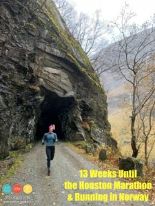 13 Weeks until the Houston Marathon & Running in Scandinavia