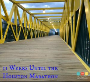 Weekly Recap: 11 Weeks Until the Houston Marathon