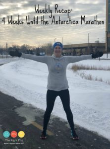 Weekly Recap: 4 Weeks Until the Antarctica Marathon
